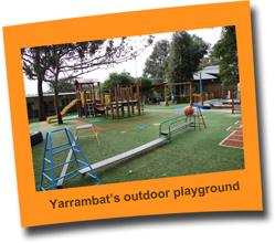 Yarrambat outdoor playground